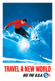 Skiing at Aspen  State of Colorado - Travel A New World - See the USA