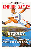1938 British Empire Games - Sydney Calls You  Australia's 150th Anniversary Celebrations