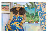 Lanikai Studio - Portrait of a Hawaiian Woman