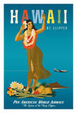 Hawaii By Clipper - Pan American World Airways (PAA) - Hawaiian Hula Girl (2 of 2)
