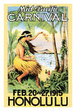 1915 Mid-Pacific Carnival - Honolulu  Hawai'i