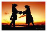Love Gives Life Within (Ua ola loko i ke aloha) - Hawaiian Hula Dancers at Sunset