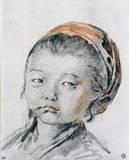Tete de Petite Fille Russe
