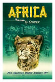 Africa by Clipper - Pan American World Airways (PAA) - African Cheetah