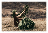 Offering to Pele - Hawaiian Hula Dancer