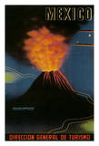 Mexico - Volcán de Parícutin- Mexico's Most Famous Volcano - Erupted in February 1943