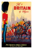 Fly To Britain By Clipper - Pan American World Airways (PAA) - British Royal Procession
