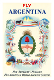 Fly to Argentina - Pan American-Panagra - Pan American World Airways System