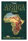 Africa by Clipper - Pan American World Airways (PAA)