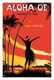 Aloha Oe (Farewell to Thee) - Famous Song by Queen Lili'uokalani (Liliuokalani) of Hawai'i