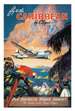 Fly to the Caribbean by Clipper - Pan American World Airways (PAA)
