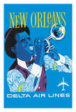 New Orleans - Delta Air Lines - Jazz Trumpet Player