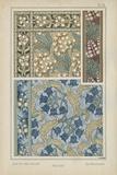 Nouveau Floral Design V
