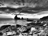 B&W Tide Pools and Rocks