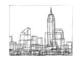 Wire Frame Cityscape I