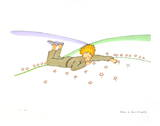 The Little Prince Dreaming (Le Reve) (lg)