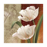 French Tulip Collage I