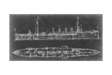 Navy Cruiser Blueprint