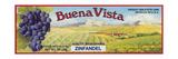 2-Up Vintage Wine Label I