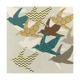 Patterned Flock II