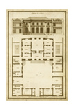 Vintage Building and Plan I
