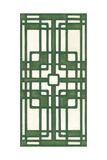 Non-Embellish Emerald Deco Panel I