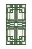 Non-Embellish Emerald Deco Panel II