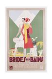 Brides Les Bains  PLM Poster