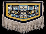 A Tlingit Chilkat Ceremonial Dance Blanket
