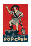 Treasure Island Popcorn Poster