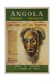 Alluring Angola Welcomes You  Travel Poster Mask