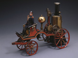 Horse-Drawn Live Steam Fire Pumper