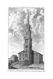 Baptist Meeting House in Providence  Rhode Island