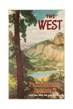 The West  Pennsylvania Railroad Go by Train Poster