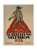 Ausstellung Secession 1918 Poster