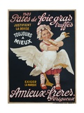 Ameiux Freres  Pates De Foie Gras  French Advertising Poster