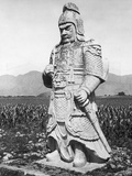 Stone Statue of Chinese General