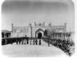 Military Ceremony in Front of Khudayar Khan Palace