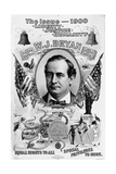 Political Poster for William Jennings Bryan
