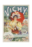French Travel Poster Vichy France  6 Hours from Paris
