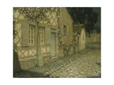 The Gardener's House in the Moonlight  Gerberoy