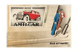 French Advertisement for Amilcar