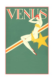 Perched Art Deco Venus