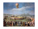 Ascent of a Balloon at the Court of Charles IV