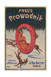 French Advertisement for Prowodnik Tires