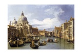 The Entrance to the Grand Canal Giclée par Canaletto