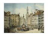The Schrannenplatz  Munich