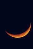 Crescent Moon Setting