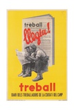 Treball  Advertisement for Catalan Labor Newspaper