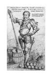 "Engraving ""Franciscus Draeck Nobilissimus Eques Angliae"""
